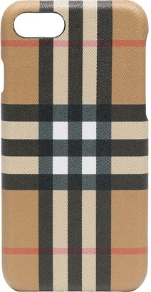 Burberry Check Printed Iphone 8 Case