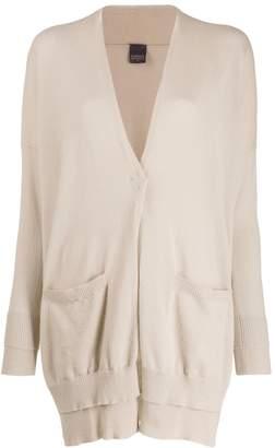 Lorena Antoniazzi slim-fit oversized cardigan