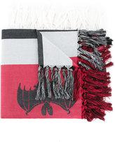 Undercover tasseled scarf