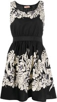 Twin-Set Twin Set floral-print fit-and-flare dress