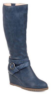 Journee Collection Garin Wedge Boot