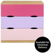 Ladybird Harley Kids Chest Of 3 Drawers