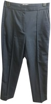 Sandro Navy Wool Trousers
