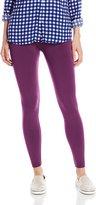 Carnival Women's Full Length Seamless Microfiber Fleece Lined Leggings