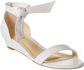 Alexandre Birman Atena Leather Wedge Sandal