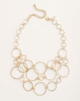 Chico's Chicos Short Goldtone Multi-Strand Link Necklace