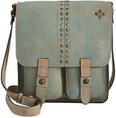 Patricia Nash Washed Denim Armeno Messenger