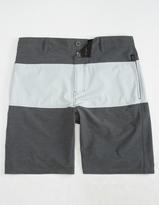 NITROUS BLACK Whittaker Mens Hybrid Shorts
