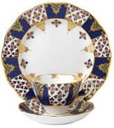 Royal Albert 100 Years 1900 Regency Blue Teacup, Scr & Plate