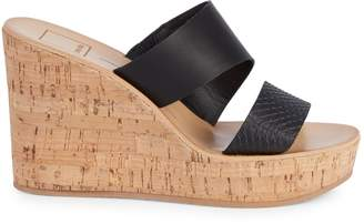 Dolce Vita Pimms Cork Wedge Sandals