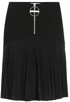 Givenchy Pleated wool skirt