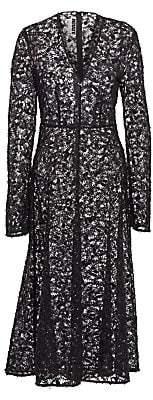 Rotate by Birger Christensen Women's N.21 Beaded Lace A-Line Dress