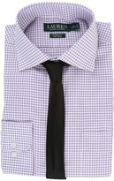 Lauren Ralph Lauren Twill Check Spread Collar Classic Button Down Shirt