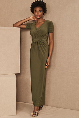 BHLDN Chelle Dress By in Green Size 0