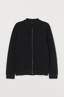 H&M Cardigan with Zip - Black