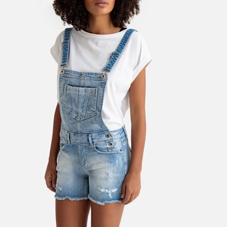 Freeman T. Porter Romie New Magic Color Denim Short Dungarees