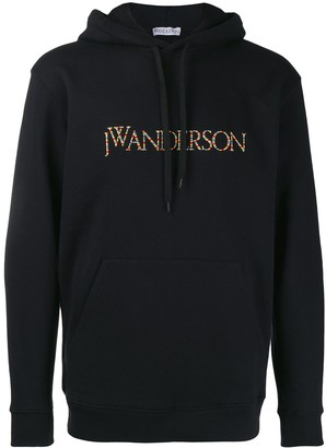 J.W.Anderson Logo Embroidered Hoodie