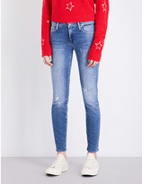 7 For All Mankind The Skinny mid-rise cropped jeans