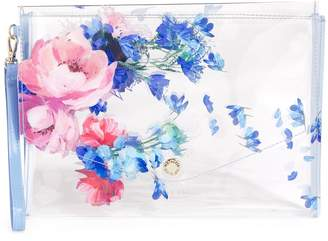 Ted Baker Serne Clear Envelope Pouch