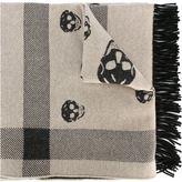 Alexander McQueen skull scarf - men - Cashmere/Wool - One Size