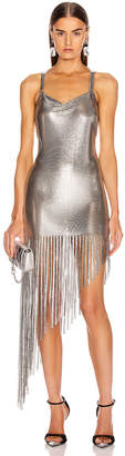 Fannie Schiavoni Saoirse Dress in Silver | FWRD