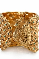 House Of Harlow Peacock Cuff with Enamel