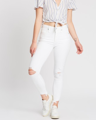 Abercrombie & Fitch High-Rise Ankle Jeans