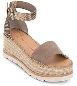 Dolce Vita Women's Larita Strappy Espadrille Platform Sandals