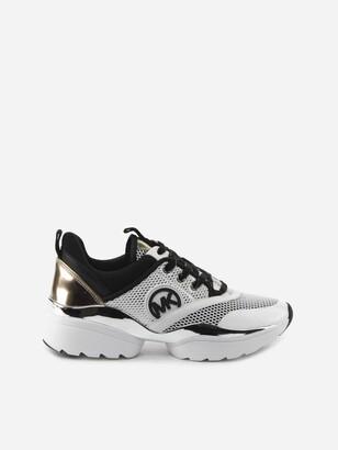 MICHAEL Michael Kors Charlie Sneakers Made Of Scuba And Mesh