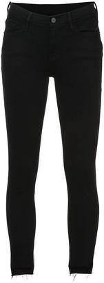 Frame 'Jeanne' skinny cropped jeans