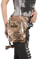steel master Steampunk Cosplay Waist Bags Gothic Womens Handbags Messenger Bags Costumes Purses