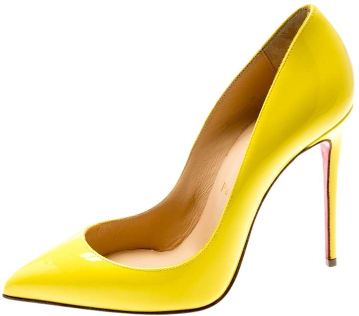 new styles 00259 11eec So Kate Yellow Patent leather Heels