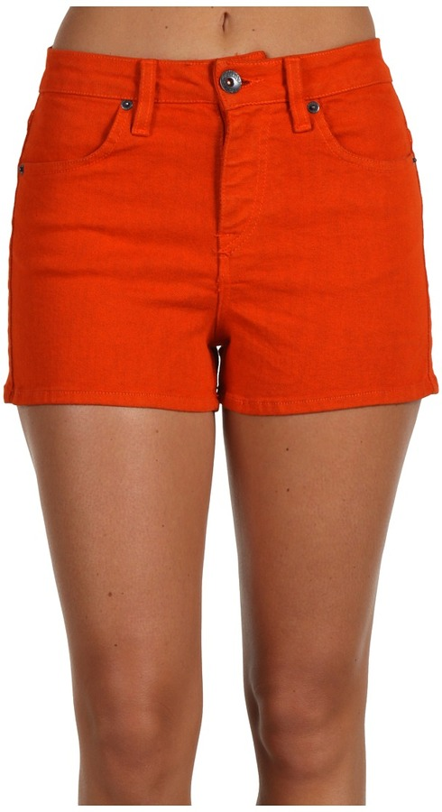 Volcom What The Twill Short (Fire Red) - Apparel