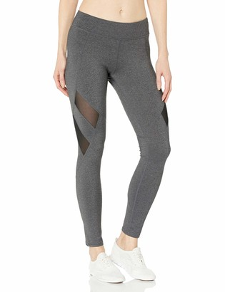 Andrew Marc Women's Long Legging with Mesh Insets