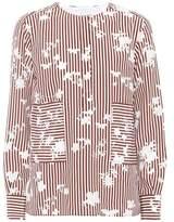 Altuzarra Carnegie striped silk top