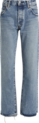 Moussy Norwalk Straight-Leg Jeans