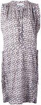 Etoile Isabel Marant jacquard sleeveless dress - women - Viscose - 42