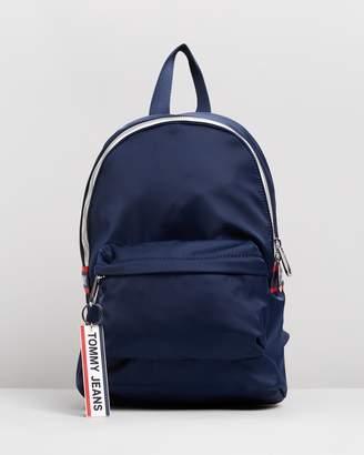 Tommy Jeans Logo Tape Nylon Mini Backpack