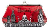 Harrods Bold London Clip Purse