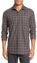 Billy Reid Men's John Trim Fit Plaid Sport Shirt