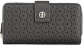 Giani Bernini Softy Perforated All-in-One Wallet, Created for Macy's