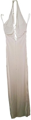Agent Provocateur White Silk Dress for Women