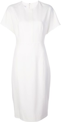 Narciso Rodriguez Fitted Knit Midi Dress