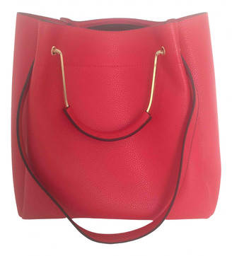 Minelli Red Synthetic Handbags