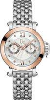 Gc Guess Collection Women's Femme Bijou Steel Bracelet & Case Quartz MOP Dial Analog Watch X40004L1S