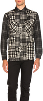 GANRYU Wool Check Shirt