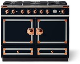 Williams-Sonoma Williams Sonoma Cornue Fe CornuFé Dual-Fuel Range Stove, Dark Navy