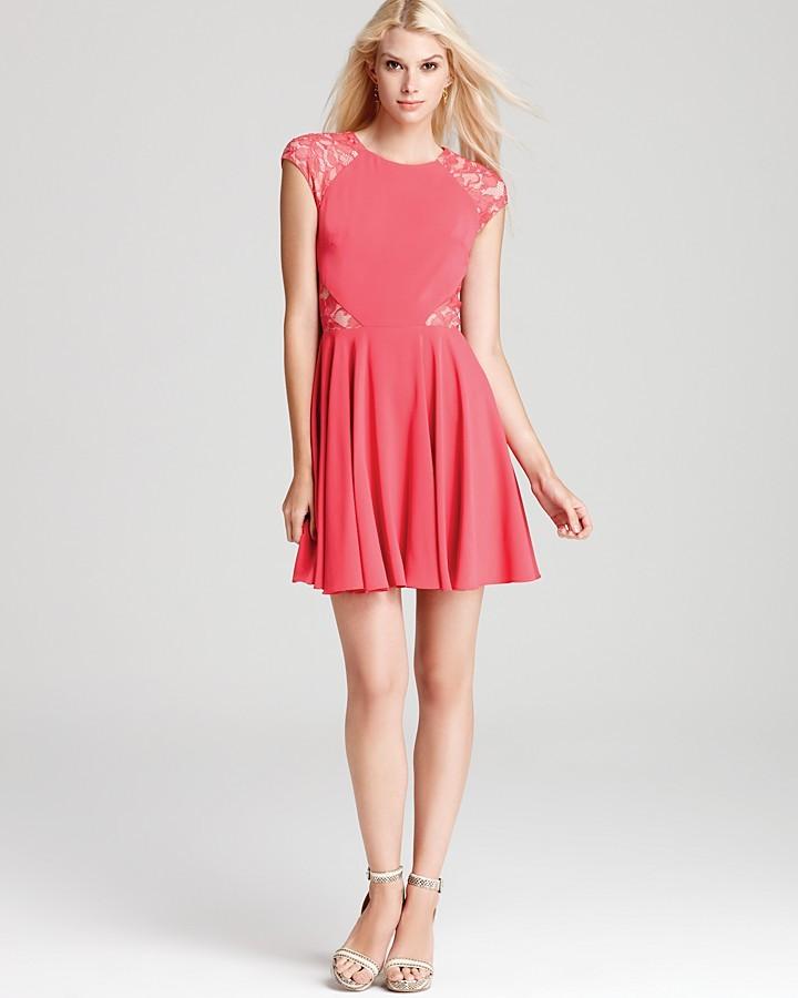 Erin Fetherston ERIN Dress - Fit & Flare Cap Sleeve