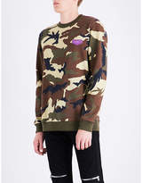 Givenchy Camouflage Cotton-jersey Sweatshirt