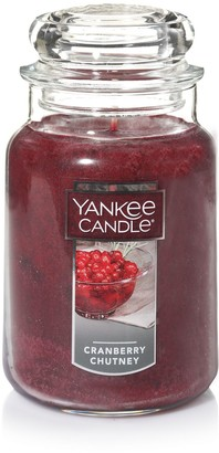 Yankee Candle Cranberry Chutney 22-oz. Large Jar Candle